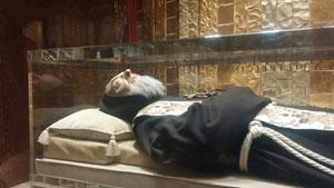 Padre Pio nella Cripta
