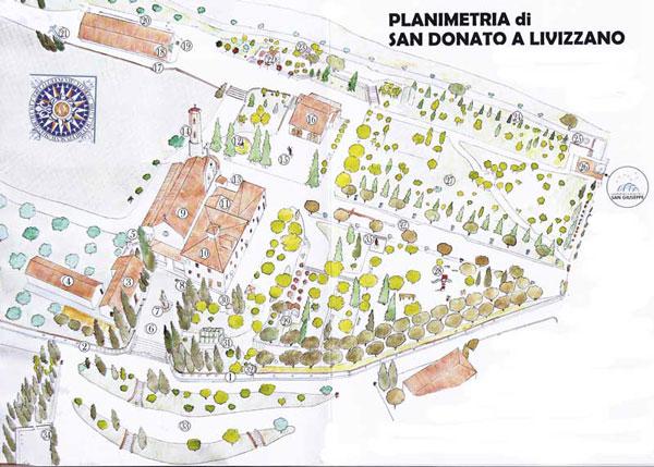 Planimetria San Donato