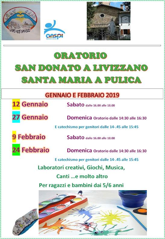Volantino Oratorio S Donato