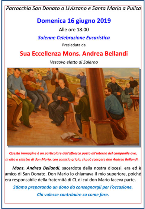 Festa s don Andrea Bellandi