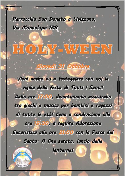 Holy Ween 31 10 2019